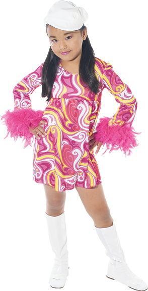 Go Go Girl Child Costume: Large