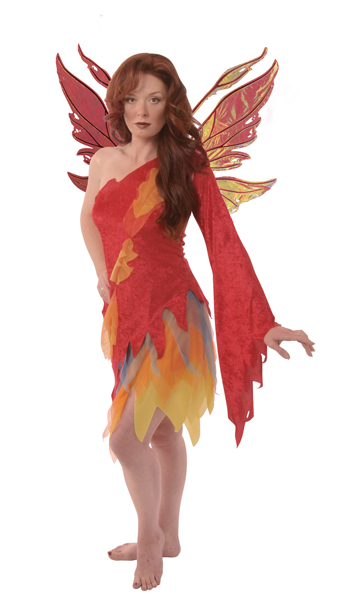 Fire Fairy Adult Costume
