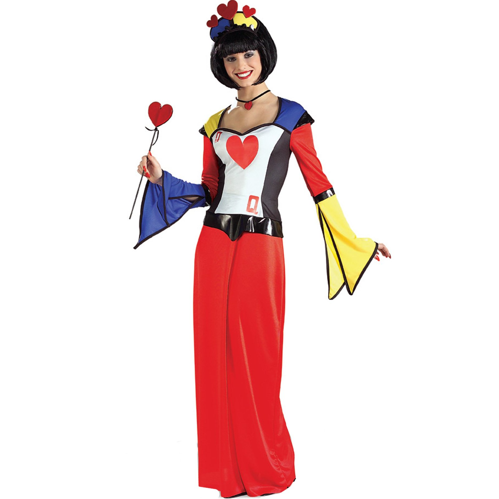 Queen of Hearts Dress Adult