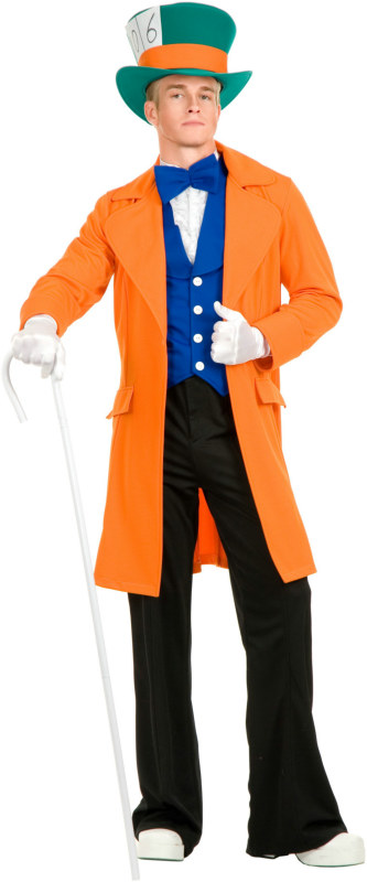Electric Mad Hatter with Pants Adult Costume