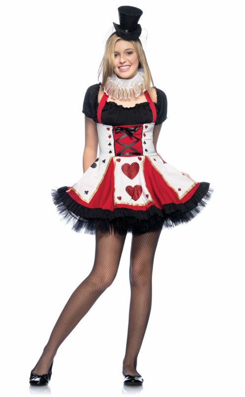 Pretty Playing Card Teen Costume