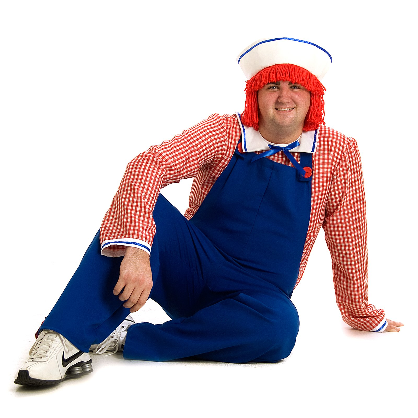 Raggedy Andy Deluxe Adult Costume