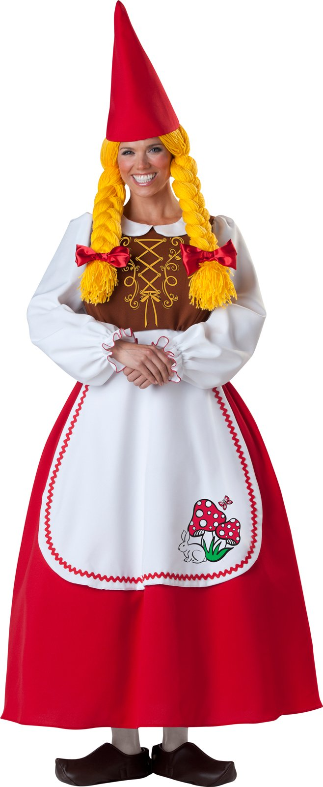 Mrs. Garden Gnome Elite Collection Adult Costume