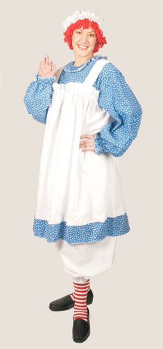 Raggedy Ann Plus Size Adult Costume