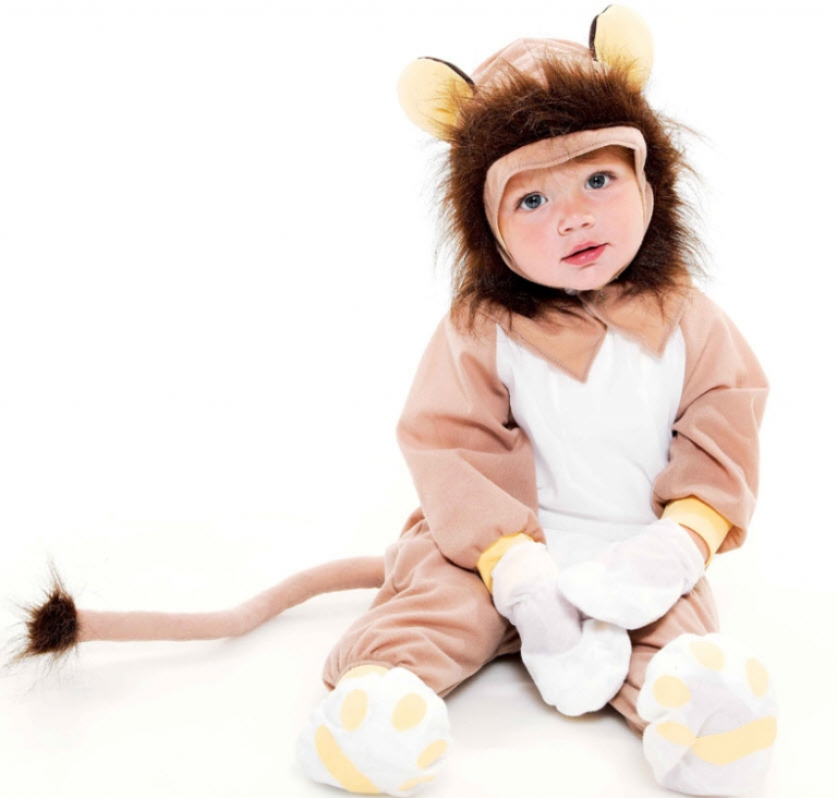 Little Golden Books Tawny Scrawny Lion Infant Costume