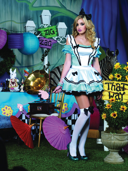 Limited Edition Adorable Alice Deluxe Adult Costume