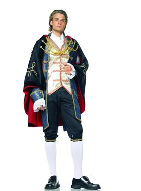 Prince Charming Cape Adult Costume