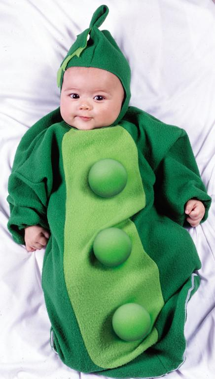 Pea Pod Bunting Infant Costume