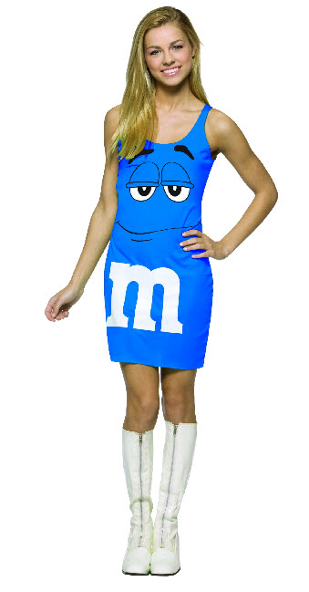 Blue M&M Tank Costume