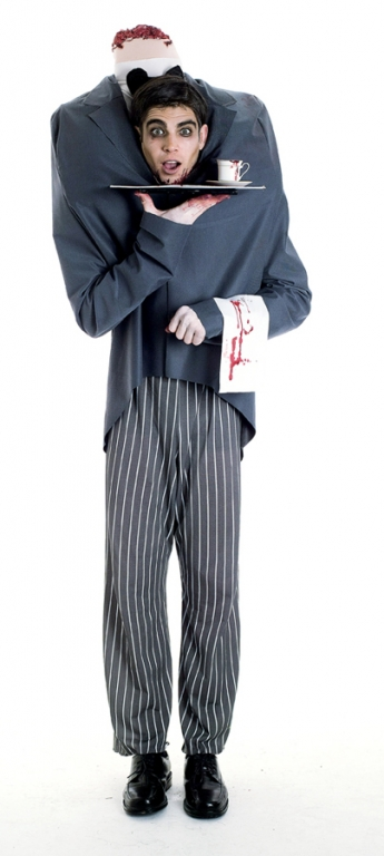 Ghost Stories Headless Butler Adult Costume