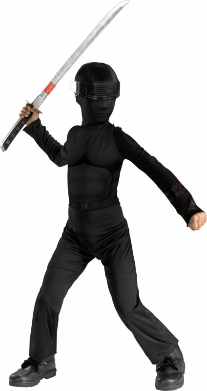 GI Joe - Snake Eyes Classic Child Costume