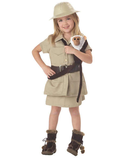 Zoo Keeper Girl Child Costume
