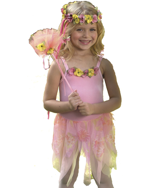 Child Pink Wood Nymph Costume