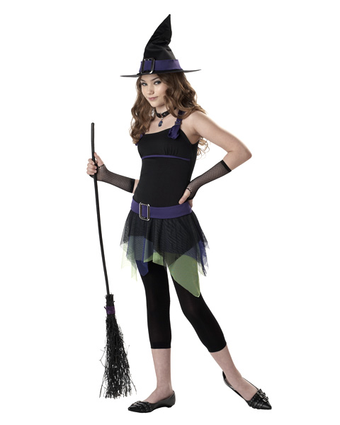Kids Sassy Witch Costume