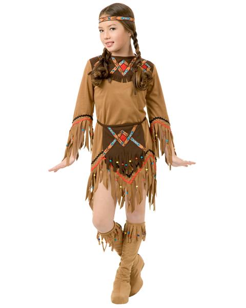 Костюм индейца из подручных материалов своими руками для девочек