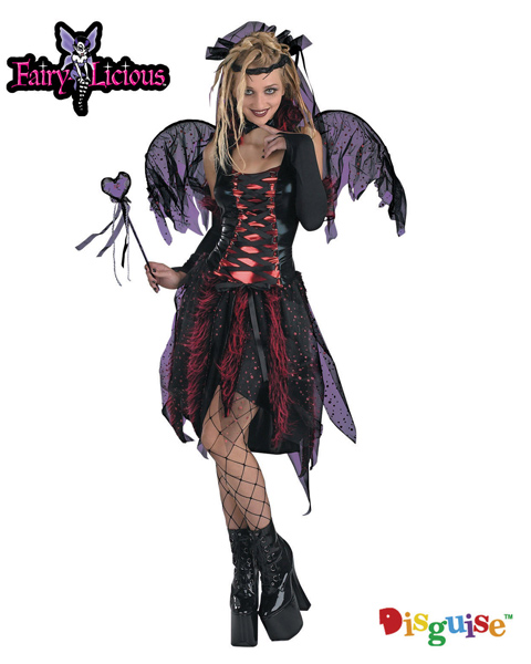 Vamp Fairy Child Costume for Teen