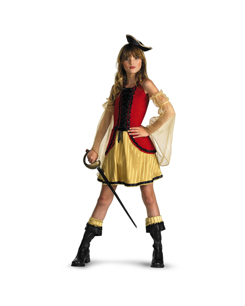 Girls Caribbean Cutie Costume