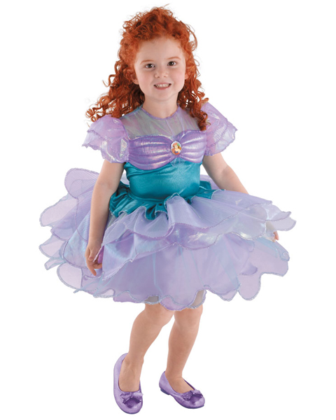 Girls Disney Ballerina Ariel Costume
