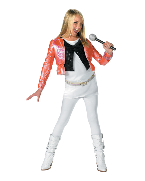 Hannah Montana With Pink Jacket Costume for Child