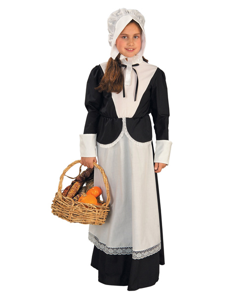Girl Colonial/Pilgrim Costume