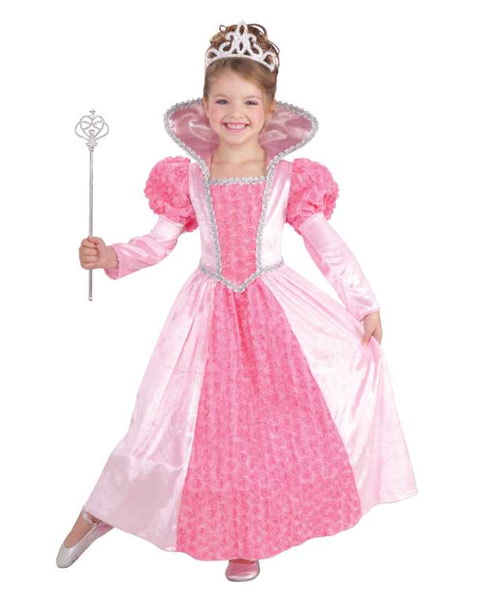 Princess Rose Child Costume