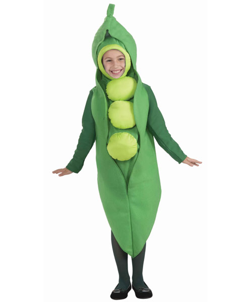 Kids Pea Costume