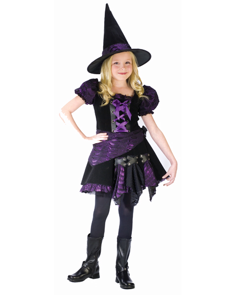 Violet Witch Costume for Child