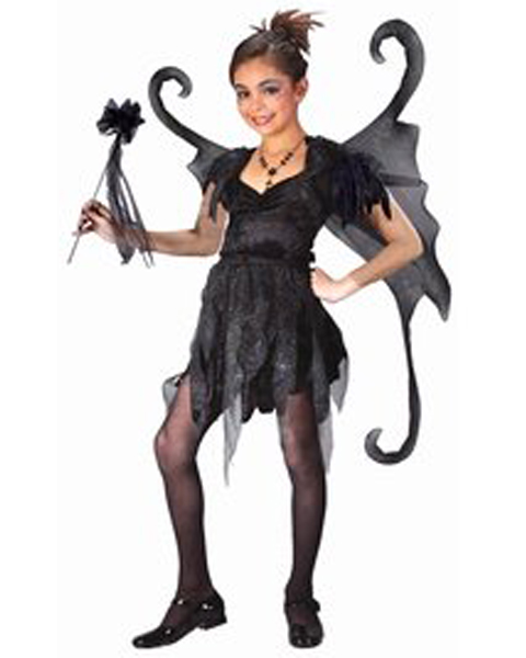 Midnight Fairy Costume for Girl