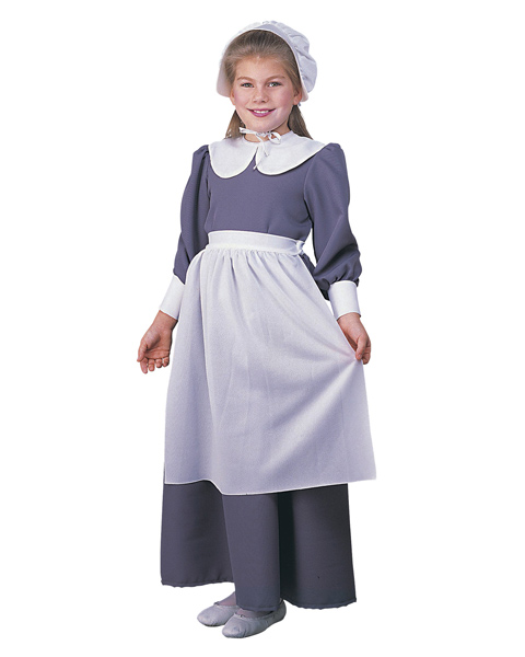 Female Kids Pilgrim/Colonial