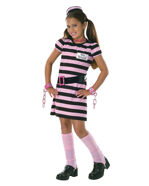 Kids Miss Behaved Costume
