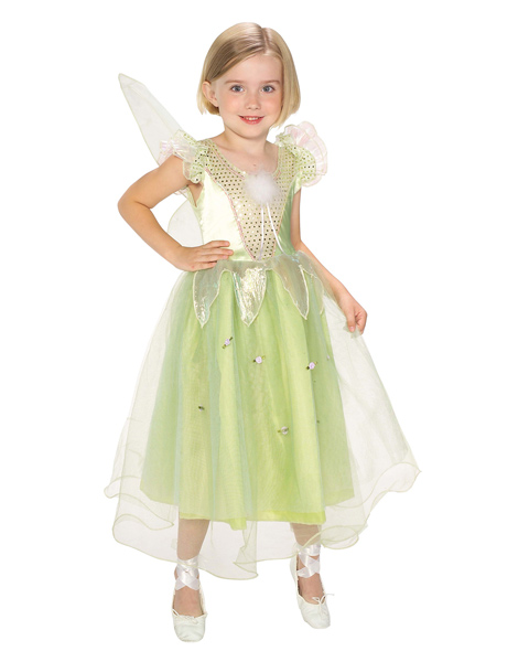 Kids Princess Tinkerbell Costume