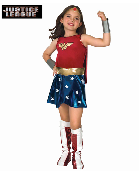 Wonder Woman Costume for Girl