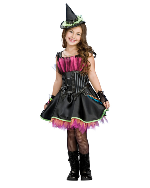 Rockin Out Witch Girls Costume