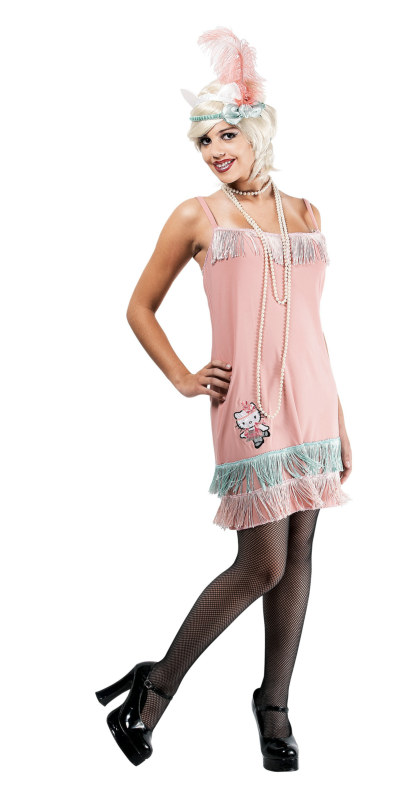 Hello Kitty Charleston Kitty Girl Teen Costume