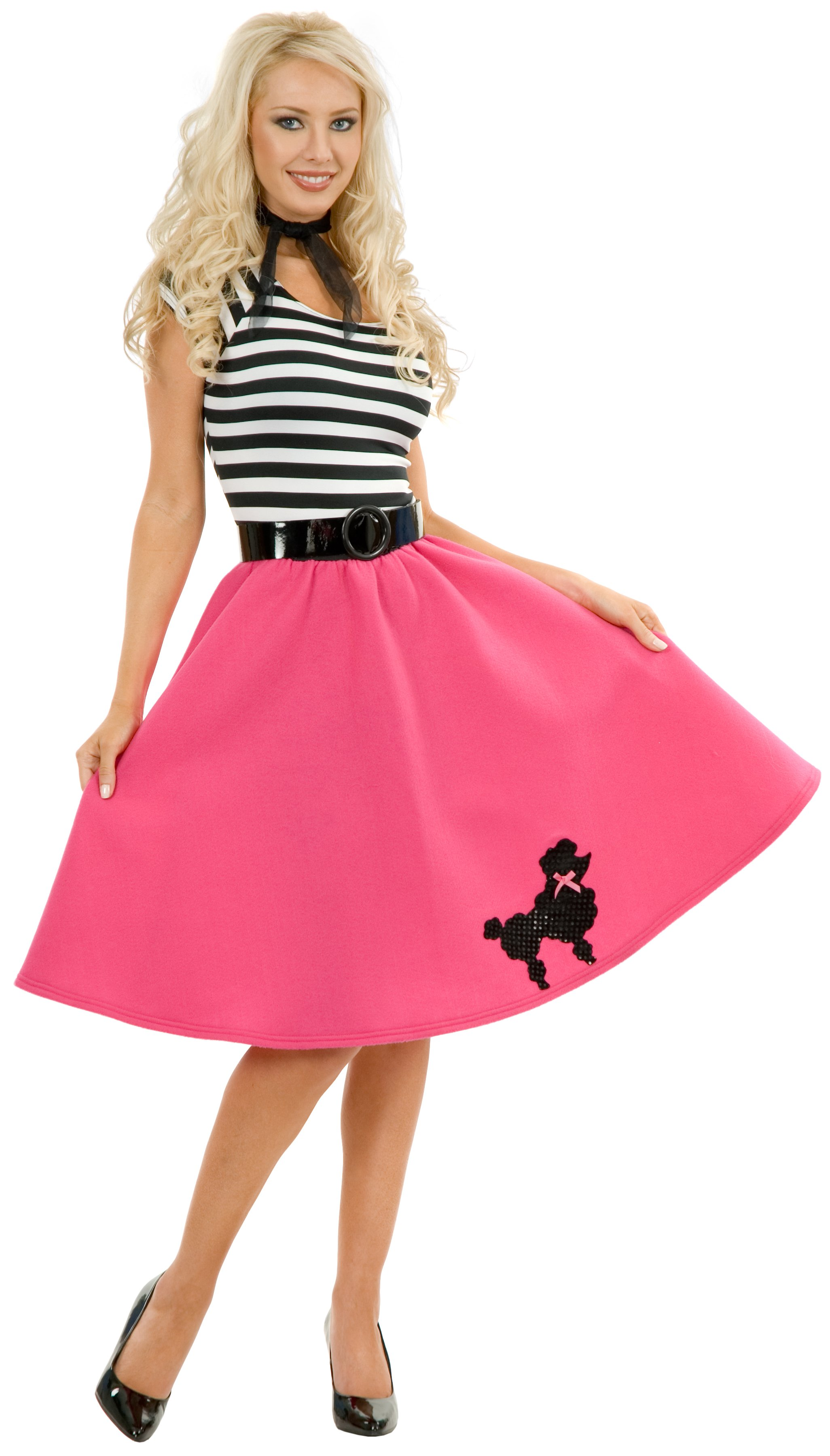 Poodle Skirt Plus Adult Costume