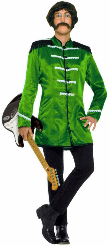 British Explosion (Green) Adult Circus Costume