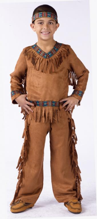 American Indian Boy Child Costume