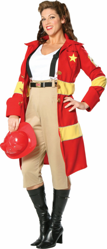 Fire Belle! Plus Adult Costume