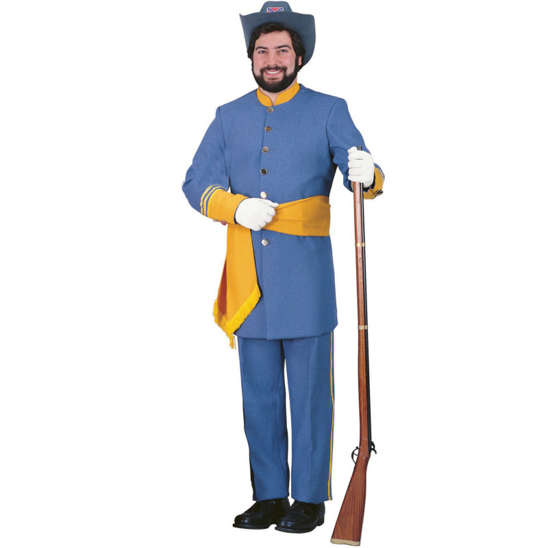 Confederate Officer Adult Costume