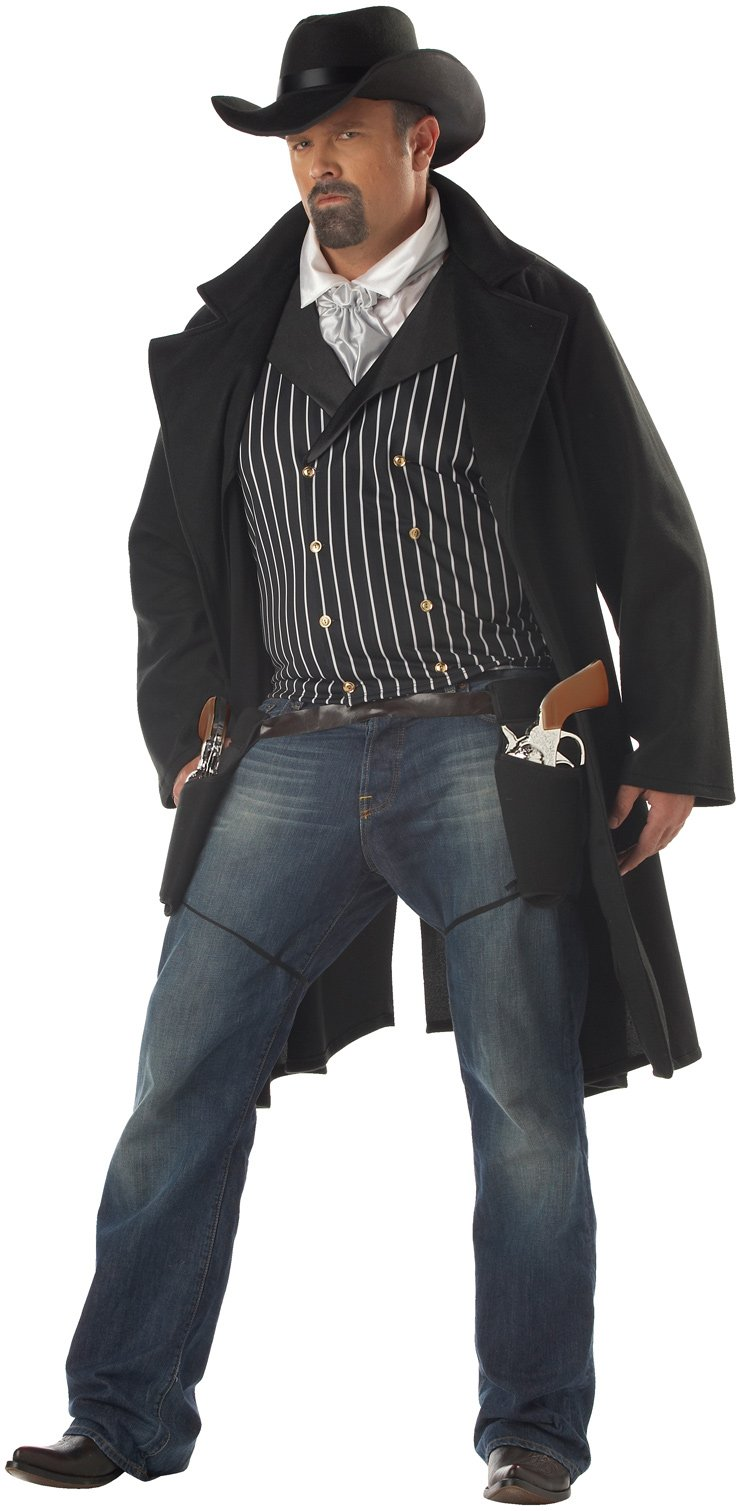 Gunfighter Plus Adult Costume