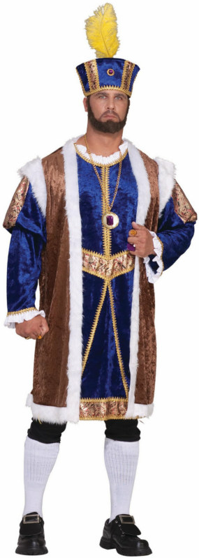 Henry VIII Designer Collection Adult Plus Costume