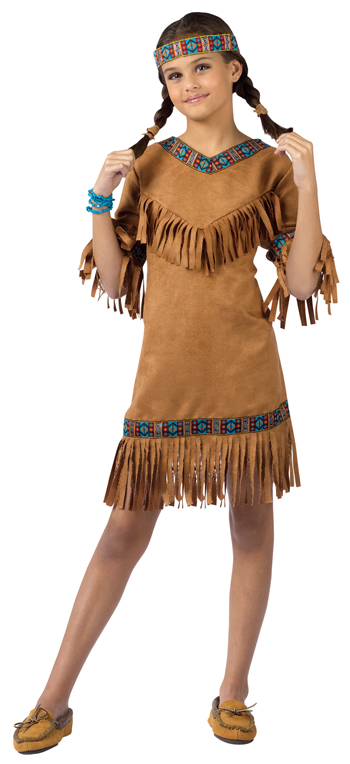 American Indian Girl Child Costume