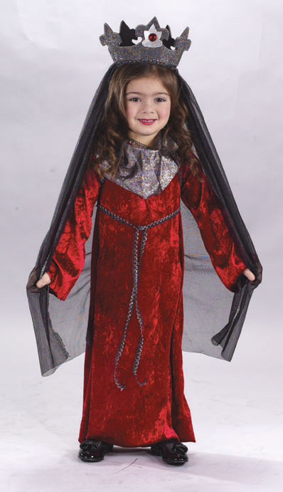 Medieval Queen Toddler Costume