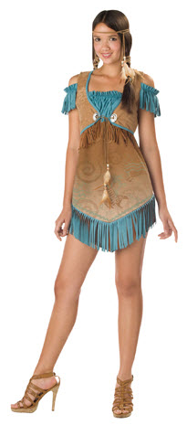 Cheeky Cherokee Teen Costume