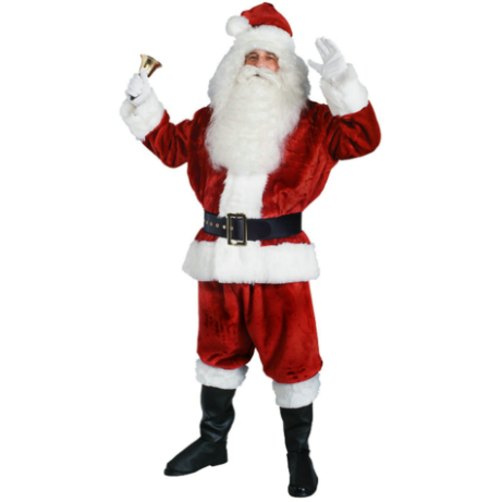 Imperial Santa Suit (Crimson) Costume