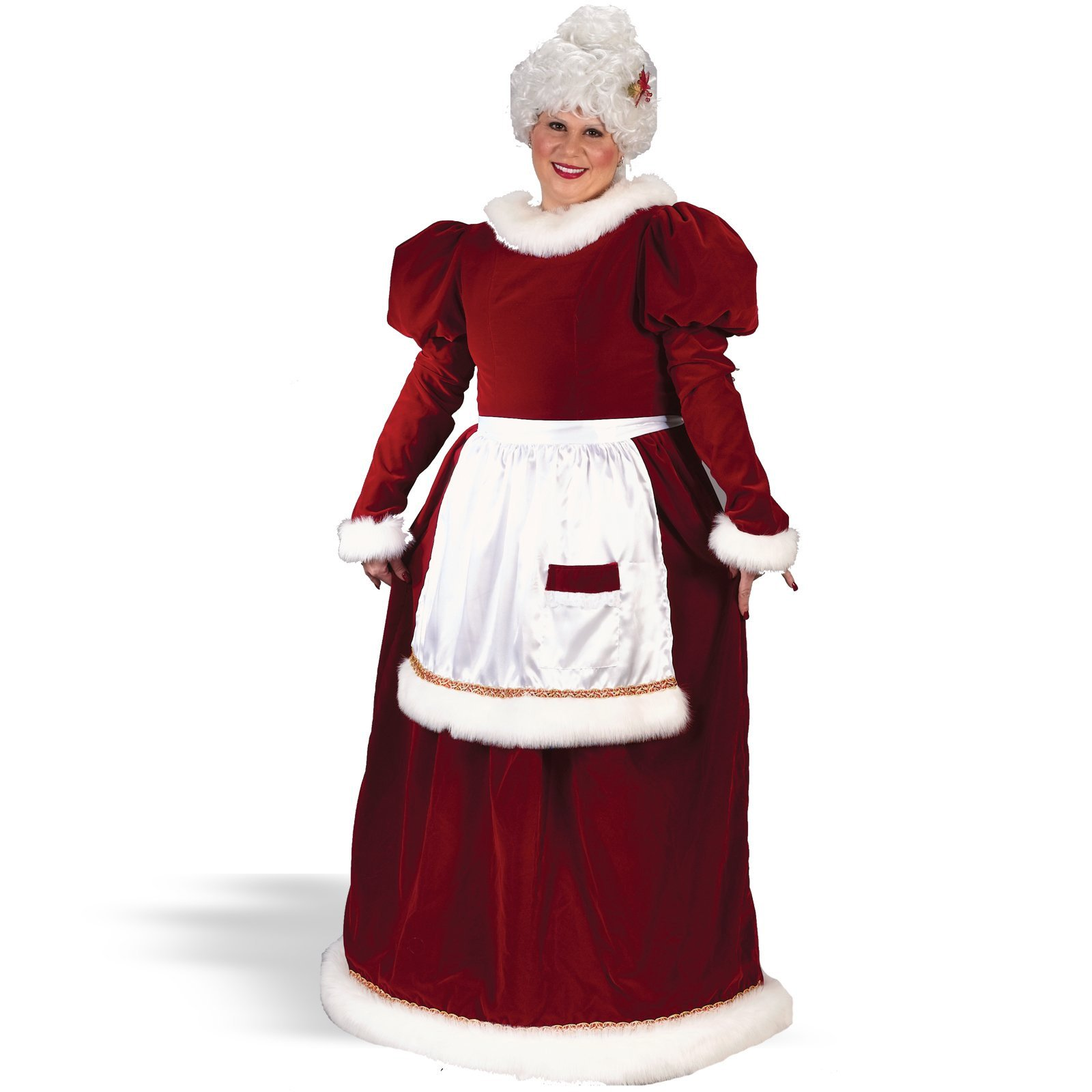 Velvet Mrs. Claus Adult Plus Costume