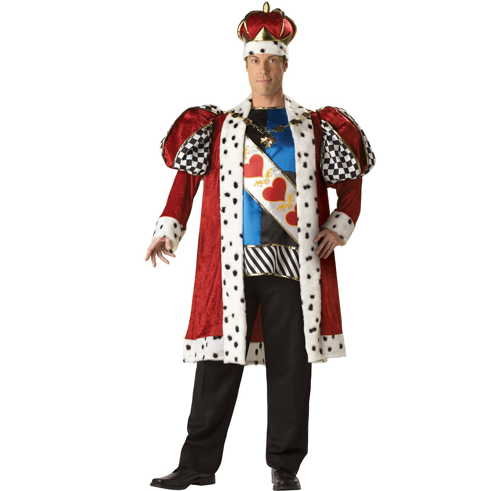 King of Hearts Elite Collection Adult Plus Costume