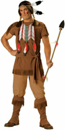 Indian Warrior Adult Costume