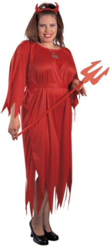 Sultry Devil Adult Plus Costume