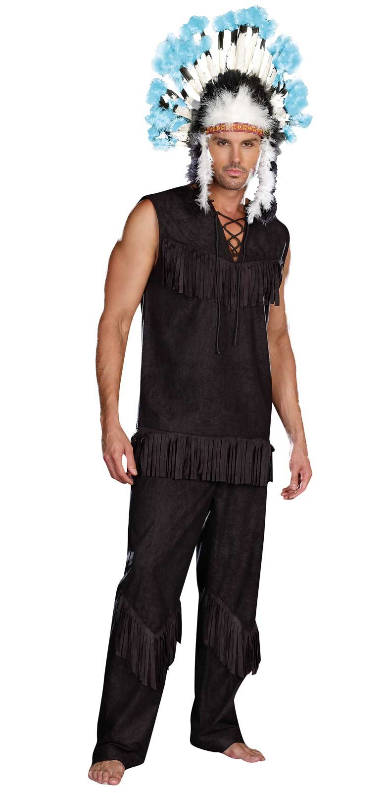 Chief Wansum Tail Adult Costume